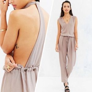 Urban Outfitters COPE T-Strap Slouchy Jumpsuit XS